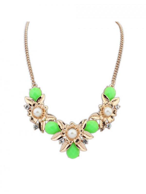 Occident Bohemia Geometry Flowers Hot Sale Necklace